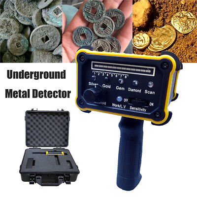 Wide Range Underground Detection Locator Detector Scanner Gold Mineral Detecting