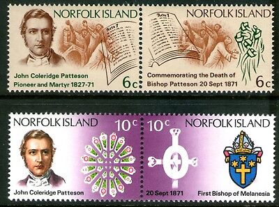 Norfolk Island 1971 Patterson set of 4 Mint Unhinged