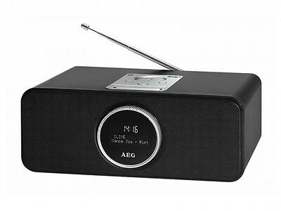 Hi-Fi System DAB+ Radio with Bluetooth, USB, Aux In AEG SR 4372 BT/DAB+ Black