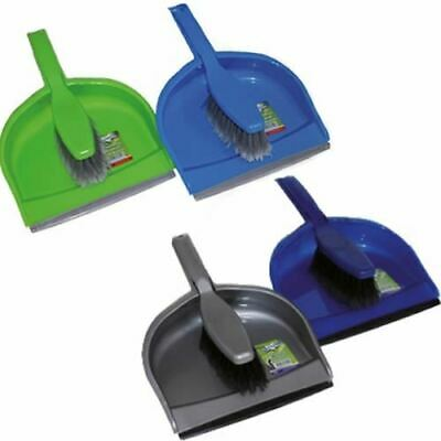 Large Plastic Dustpan And Brush Set Home Cleaning Dust Pan Floor Sweeping