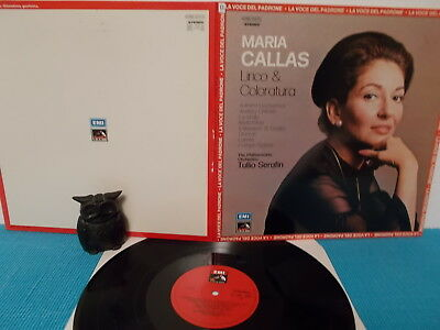 MARIA CALLAS > lirico & coloratura > ITALY LP 1974 > NEAR MINT