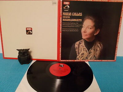 MARIA CALLAS > interpreta ROSSINI & DONIZETTI > ITALY-pressung 1975 > NEAR MINT