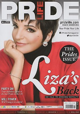 Pride Life - Liza Minnelli / Will Young - Summer 2015 Issue (New) - Gay Interest