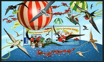 Christmas Island 2013 Christmas Miniature Sheet Fine Used