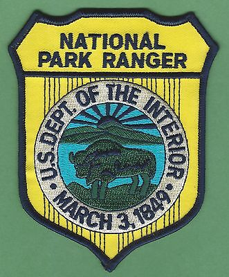 United States Department Of The Interior National Park Ranger Patch