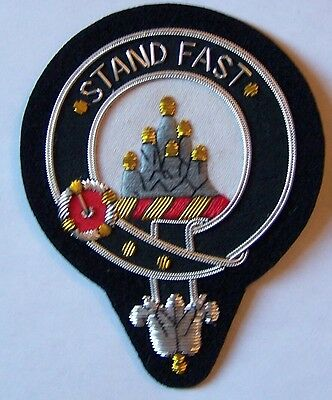 Royal Scottish Scotland Clan Crest Heraldry Family Reunion Name Grant Arm Patch
