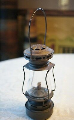 Vintage Dietz Small Scout Lantern Made in USA Collectible Great Condition