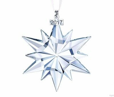 Swarovski 2017 GENUINE AUTHENTIC Large Annual Edition Crystal Ornament #5257589