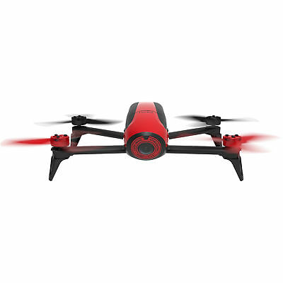 Parrot Bebop 2 Quadcopter Drone with HD Video 14MP Flight Camera (Red) PF726000