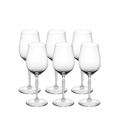 Lalique 100 Points Set Of 6 Universal Glasses Brand New In Box #10300400 Save$