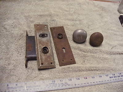 Vintage  Old Antique Metal Door plates, Lock &, handles,