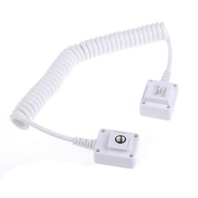 Neewer White Off-camera Flash Hot Shoe Connector Cord for Sony Camera Speedlite