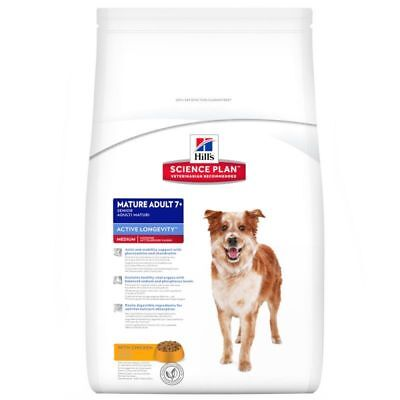 Hill's Cani Anziani Taglia Media Al Pollo 12 Kg Mature Adult 7 +