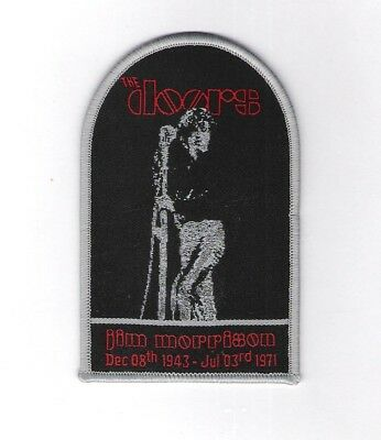 patch embroidered / écusson thermocollant The Doors, Jim Morrison