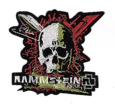 patch embroidered / écusson thermocollant Rammstein Reise Reise