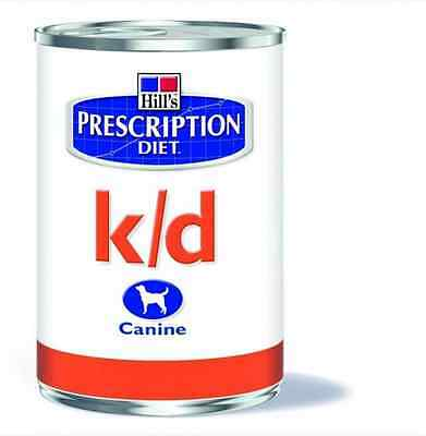 12  Scatolette K/d Prescription Diet Per Cani Adulti Hill's Disturbi Renali