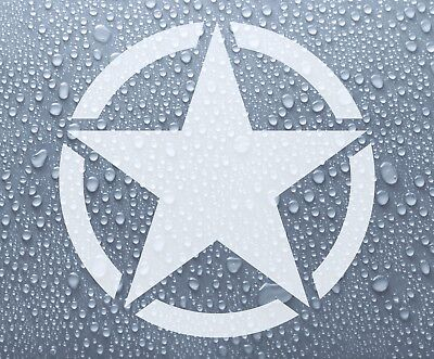 US American Army Star military badge - vinyl decal sticker - DEC1130