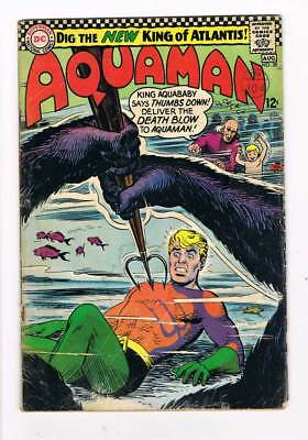 Aquaman # 28 Hail Aquababy, New King of Atlantis ! grade -- 3.0 scarce book !!
