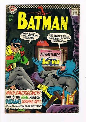 Batman # 183 The Reason Batman is Goofing Off ? 2nd Poison Ivy grade--4.0 scarce