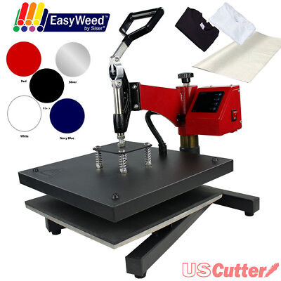 "15""x15"" DIGITAL Swing Away Heat Press Machine Tshirts Sublimation - BUNDLE BONUS"