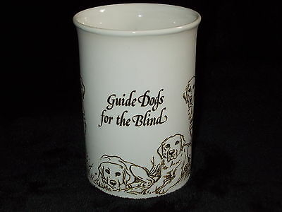 """Dunoon Ceramics """"guide Dogs For The Blind""""  Commissioned Mug"""