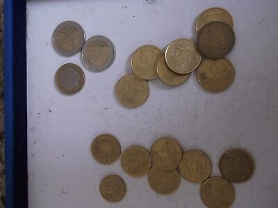 Euro Coin Lot of 9.50 Face Value