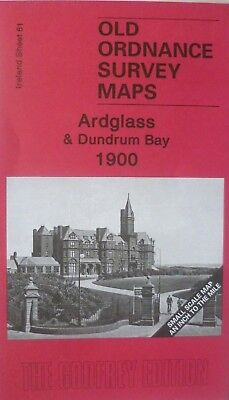 Old Ordnance Survey Maps Ardglass & Dundrum Bay Ireland 1900 Godfrey Edition New