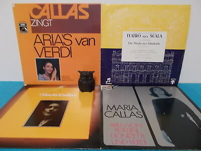 MARIA CALLAS > 4-LP's > siehe fotos + text > top