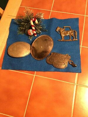 Odds And Ends Of Broken Or Scratched Belt Buckles Estate Auction  Buckle parts