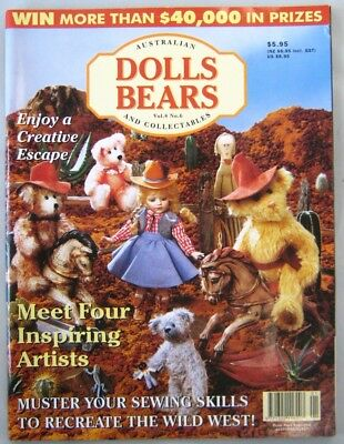 Australian Dolls Bears and Collectables Magazine Vol 4 No 6