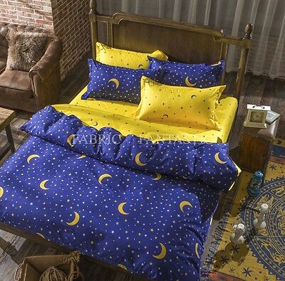 Queen/King/Super King Size Bed Duvet/Doona/Quilt Cover Set New Ar NIGHT