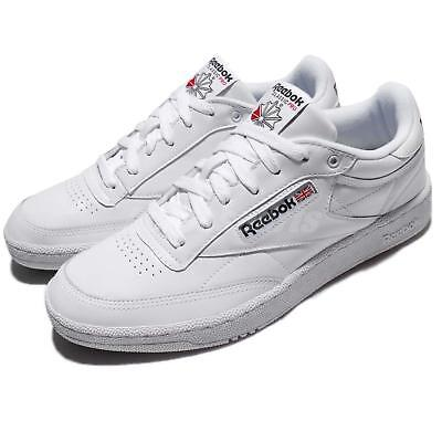 93b701a5e823 Reebok Club C 85 Pro Leather White Classic Men Shoes Sneakers Trainers  CM9430