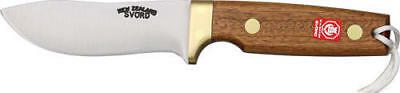 """Svord SV1990NZ Knives Fixed Knife Wood Handle Drop Point Hunter 9"""" Overall 4 3/8"""