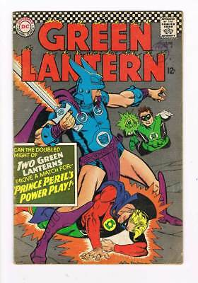Green Lantern # 45 Prince Peril's Power Play ! grade -- 4.5 scarce book !!