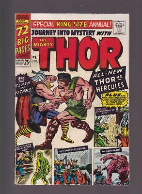 Thor Annual # 2 Who dares defy the Destroyer ! grade -- 3.5 scarce book !!