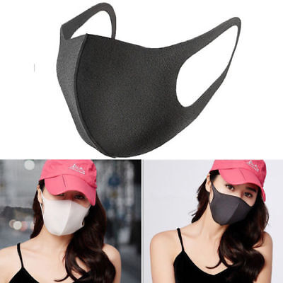 1Pcs Washable Earloop Mask Cycling Anti Dust Mouth Face Mask Surgical Respirator