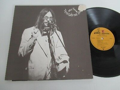Neil Young/tonight´s The Night  Lp 1975 Wea Reprise Rep 54 040 Z Foc