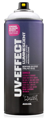 Montana UV Effect Transparent Spray Paint - Luminescent Varnish Spray