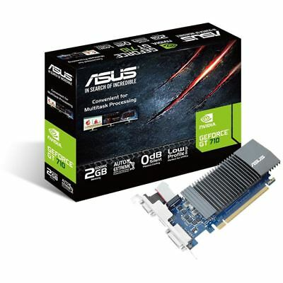 2GB Asus GeForce GT 710 Silent Passiv PCIe 2.0 x 8 (Retail)