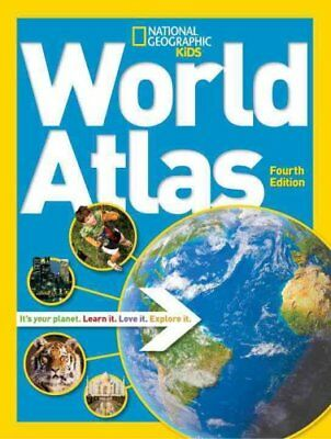 National Geographic Kids World Atlas by National Geographic 9781426314032