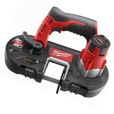 Milwaukee 12V Compact Cordless Bandsaw - M12Bs-0 - Body Only