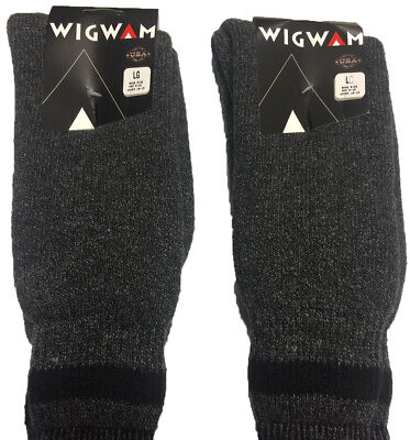 3 Pair of Wigwam Socks:Extream Cold  Super Boot Socks Large