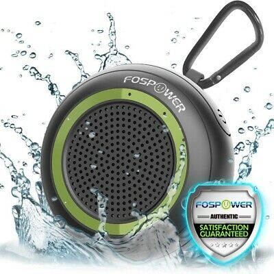 IP67 Waterproof Wireless Bluetooth + Micro SD Portable Rechargeable LED Speaker