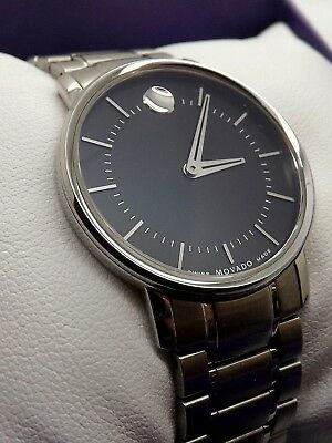 New Ladies Movado Bold 39.3.14.1210 Wrist Watch ~Showroom Used Watch New In Box~