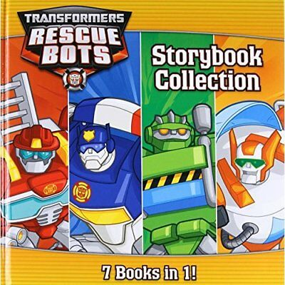 Transformers Rescue Bots: Storybook Collection - Hardcover NEW Hasbro (Author) 0