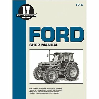 Ford Shop Service Manual: Models 5640/6640/7740/7840/82 - Paperback NEW _ 1996-0