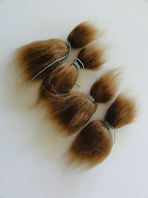 MOHAIR for rooting- REBORN Doll making supplies 20g  (0.7 oz) light brown