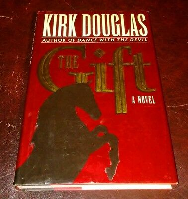 KIRK DOUGLAS Signed Autograph Book The Gift 1st Edition Paths Of Glory Spartacus