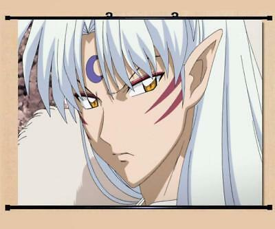 """Japanese Anime InuYasha Roles Home Decor poster Wall Scroll 23.6x17.7"""" GO1216"""