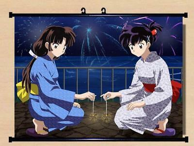 """Japanese Anime InuYasha Roles Home Decor poster Wall Scroll 23.6x17.7"""" GO1228"""